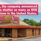 Dunkin' to Close Up to 800 U.S. Locations, Joining a Growing List of Chains Making Cuts