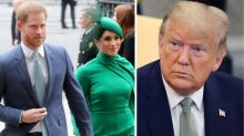 Meghan and Harry set record straight after Trump says US won't pay for security costs