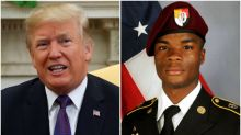 Donald Trump's comments on U.S. soldier killed in Niger spark controversy