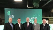 Resolute to Invest Over $52 million in its Saint-Félicien Pulp Mill in Quebec