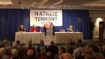 Elizabeth Warren stumps for Natalie Tennant in West Virginia
