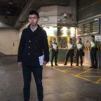 Hong Kong democracy activist Joshua Wong released on bail