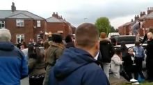 Tommy Robinson: 20 suspects charged with violent disorder at Oldham European elections rally
