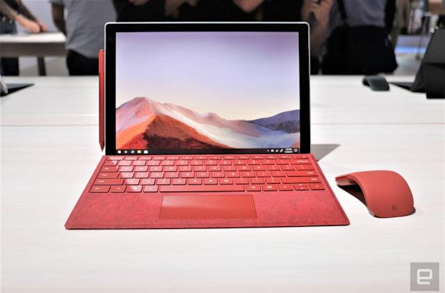 Surface Pro 7 hands-on: USB-C is the main upgrade