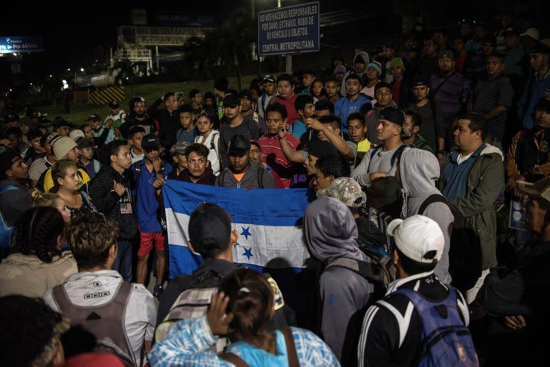 Latest Migrant Caravan: Hundreds of Hondurans Head to US Border