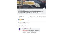 Professor é preso após comentar no Facebook zombando morte de PM
