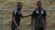 Kanu, do Botafogo, elogia dupla com Benevenuto: 'A gente se entende'