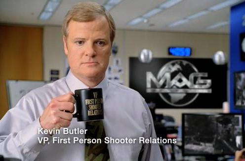 Kevin Butler to star in PlayStation ads for rest of 2010