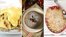 Rhubarb crumble, spotted dick and figgy pudding among traditional British desserts dying out