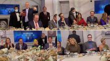 A TV Azteca no le importa la pandemia y la cena con sus estrellas lo demuestra