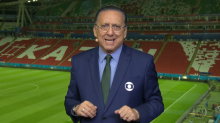 """Galvão zoa Mick Jagger e Luciana Gimenez o rebate: """"Você deu azar para o Brasil"""""""
