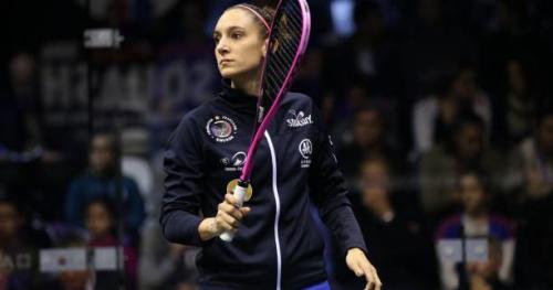 Squash - ChM (F) - Championnat du monde : Camille Serme rejoint les quarts de finale