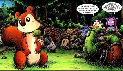 World of Warcraft in the comics