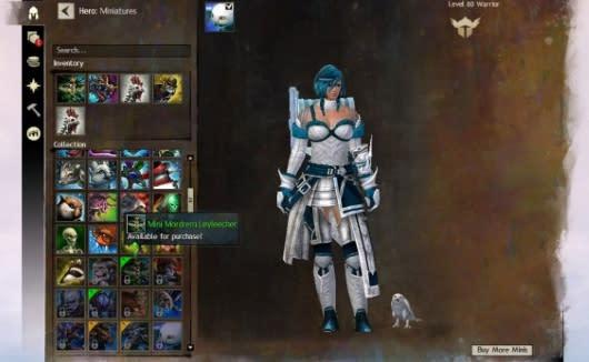 Guild Wars 2's minipets move into the wardrobe