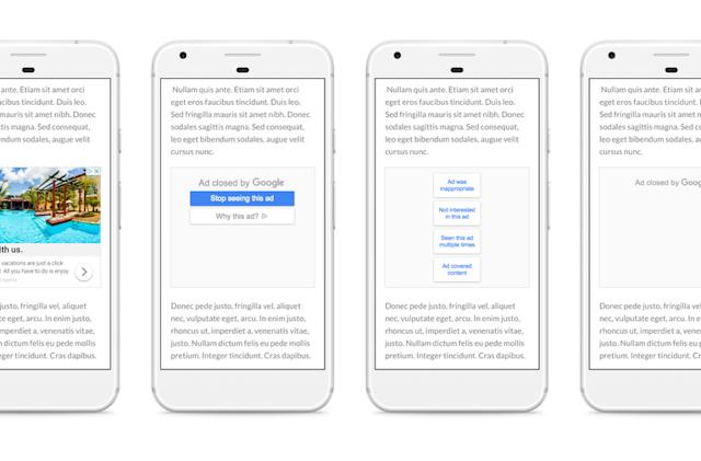 Google gives users more control over the ads they see
