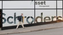 Schroders profit falls on outflows, restructuring