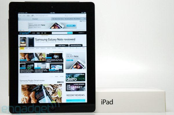 New iPad to hit 30 more countries this weekend, work on its tan