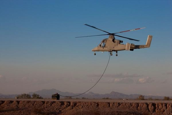 K-MAX unmanned chopper delivers Air Force salute to Afghan danger (video)