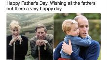 Royals release rare Father's Day photos - but where's Charlotte?