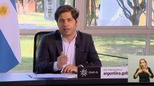 """Coronavirus. Axel Kicillof: """"No traten de politizar la pandemia"""" y otras frases de su discurso"""