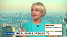 Julie Sweet Says Accenture's Strategy Is to 'Double-Down' on Diversity