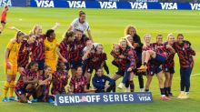 Soccer-USWNT get $1 million from women's apparel company amid equal pay fight