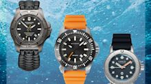 12 best waterproof watches for swimming, surfing and diving