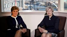 Theresa May only allowed Nicola Sturgeon to speak 'briefly' about second referendum before shutting her down