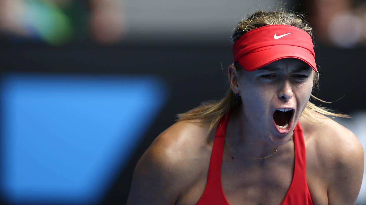 Sharapova, Makarova into Aust Open semis