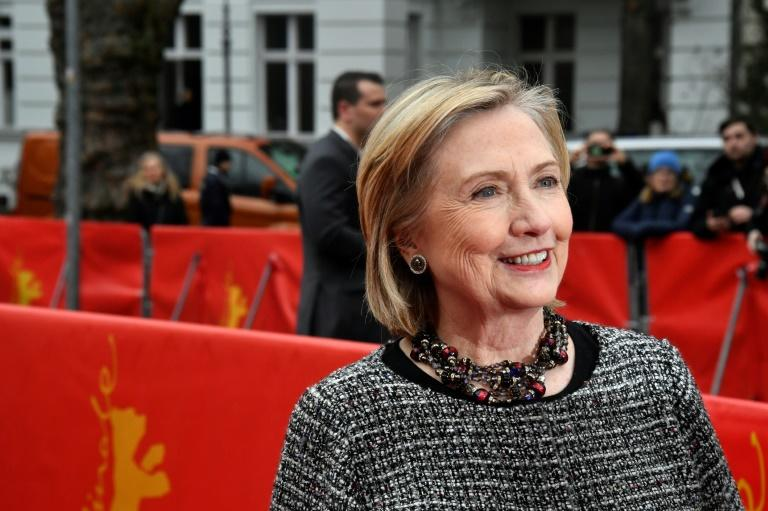 Clinton calls Trump 'danger to democracy' at Berlin film fest