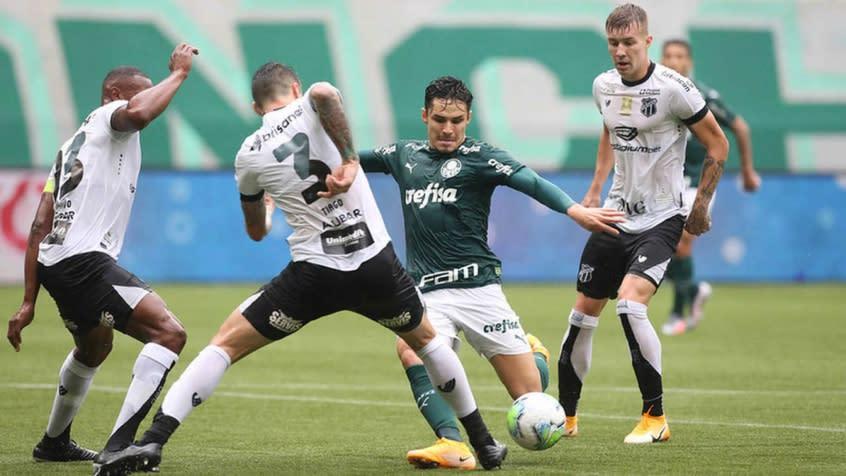 Ceará x Palmeiras: onde assistir, arbitragem e escalação