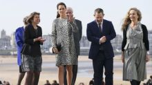 Kate Middleton visits Turner Contemporary in Margate