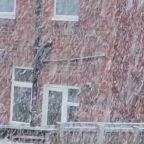 First Snow of the Year Falls in South Shields