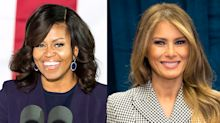 Melania Trump called 'more like Michelle Obama than people think' — and social media isn't happy