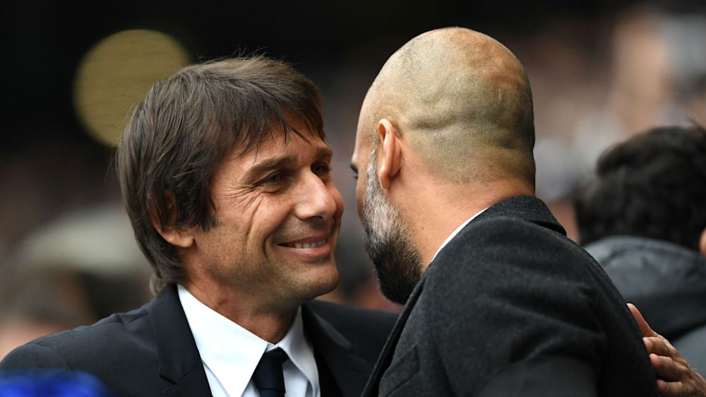 Maybe he's the best - Guardiola hails 'superb' Chelsea boss Conte