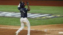 Rays' Randy Arozarena sets MLB single-postseason record with ninth homer