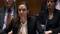 Jolie Urges U.N. to Halt Wartime Sex Crimes