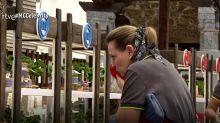 Ainhoa Arteta explota en lágrimas en plena semifinal de 'MasterChef' pero su colapso no convence