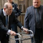 Weinstein's lawyers insist he isn't using Zimmer frame for sympathy in court after he is seen shopping without it