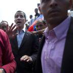 Venezuela's Maduro closes Brazil border to block aid entry