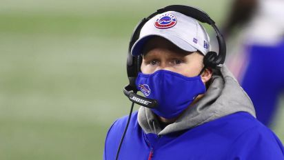 Bills coach on why he kicked FGs: 'Morale'