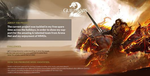 Guild Wars 2 player redesigns ANet's UI