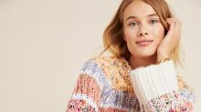 Everything in Anthropologie's sale section is an additional 50% off right now