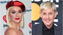 Katy Perry Defends Ellen DeGeneres Against 'Toxic' Workplace Claims