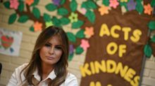 Melania Trump will return to Texas migrant detention centers this week — days after 'I really don't care' jacket drama
