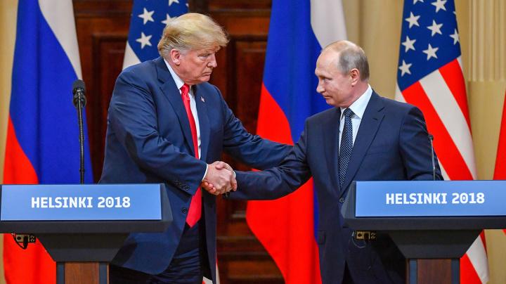 Trump, Putin dismiss claims of Russian meddling