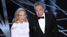 Warren Beatty y Faye Dunaway volverán a intentarlo en los Oscar, ¿repetirán el error?