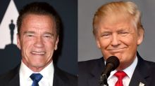 Arnold Schwarzenegger: I Think Donald Trump Is in Love With Me