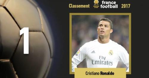 Foot - Ballon d'Or - Cristiano Ronaldo remporte son cinquième Ballon d'Or et égale Lionel Messi