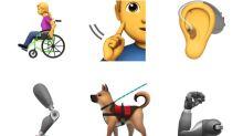 Apple lanza 13 nuevos emojis para representar a las personas con discapacidad